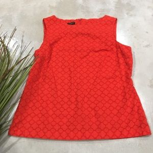 Talbots Sleeveless Round Neck Top Petite M